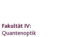 Lehrstuhl Quantenoptik