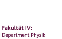 Department Physik